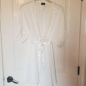 Sexy Sheer Bridal Robe